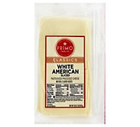Primo Taglio Classics Cheese American White Sliced - 16 Oz