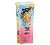 Signature SELECT Drink Mix Fruit Punch - 6-0.35 Oz