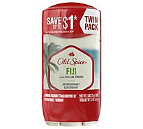 Old Spice Anti Perspirant & Deodorant Invisible Solid for Men Fiji with Palm Tree - 2.6 Oz