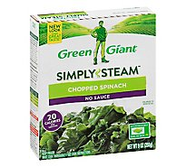 Green Giant Steamers Spinach Chopped - 9 Oz