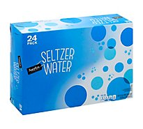Signature SELECT Water Seltzer - 24-12 Fl. Oz.