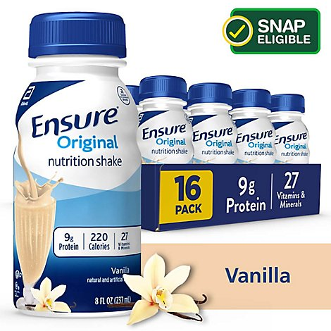 Ensure Original Nutrition Shake Ready To Drink Vanilla - 16-8 Fl. Oz.