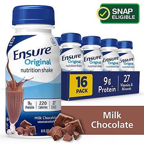 Ensure Nutrition Shake Original Ready To Drink Milk Chocolate - 16-8 Fl. Oz.