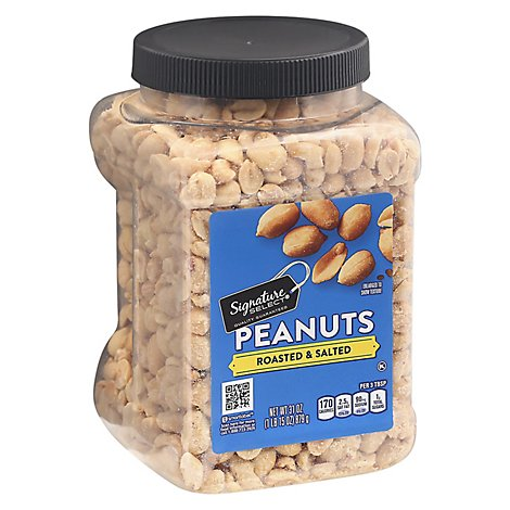 Signature SELECT Peanuts Roasted & Salted - 31 Oz