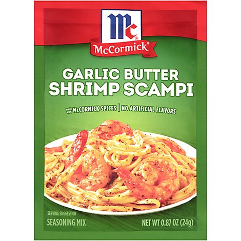 McCormick Seasoning Mix Garlic Butter Shrimp Scampi - 0.87 Oz