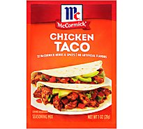 McCormick Seasoning Mix Taco Chicken - 1 Oz