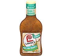 Lawrys Marinade Herb & White Wine - 12 Fl. Oz.