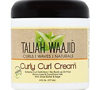 Taliah Waajid Black Earth Curly Curl Creme - 6 Oz