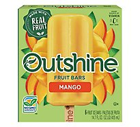 Outshine Fruit Ice Bars Mango 6 Count - 14.7 Fl. Oz.