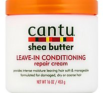 Cantu Shea Butter Cream Leave-In Conditioning Repair - 16 Oz