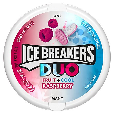 Ice Breakers Mints Duo Raspberry - Each