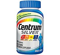 Centrum Silver Multivitamin/Multimineral Tablets Mens - 200 Count