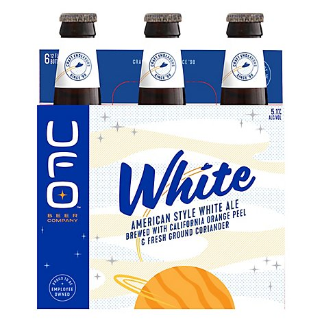 Harpoon Beer Unfiltered Wheat UFO White Bottles - 6-12 Fl. Oz.