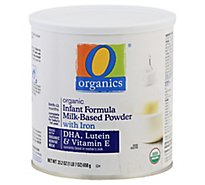 O Organics Organic Infant Formula Milk Based Powder Birth To 12 Months - 23.2 Oz