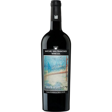 Save Me San Francisco Wine Red California Drops Of Jupiter - 750 Ml
