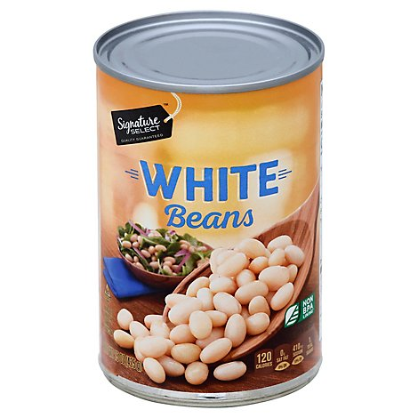 Signature SELECT Beans White - 15.5 Oz