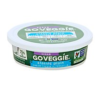 Go Veggie Dairy Free Classic Plain Cream Cheese - 8 Oz