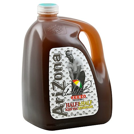 AriZona Arnold Palmer Half & Half Iced Tea Lemonade Zero - 128 Fl. Oz.