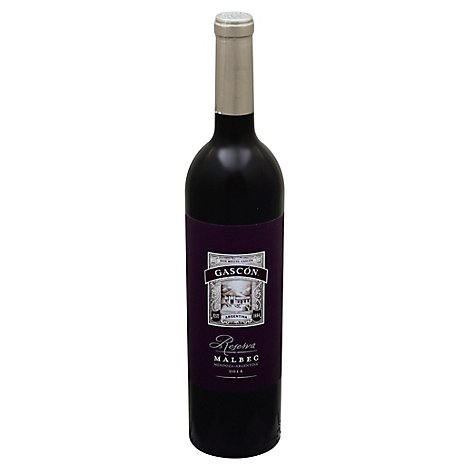 Don Miguel Gascon Reserva Argentinian Malbec Red Wine - 750 Ml