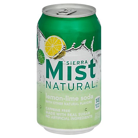 Sierra Mist Soda Lemon Lime - 24-12 Fl. Oz.