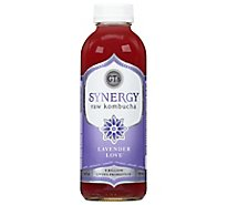GTs Enlightened Kombucha Organic & Raw Lavender Love - 16.2 Fl. Oz.