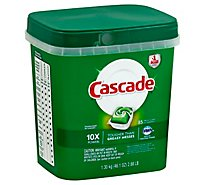 Cascade Dishwasher Detergent ActionPacs Fresh Scent Tub - 85 Count