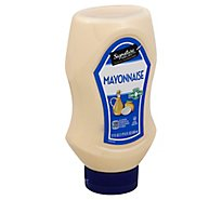 Signature SELECT Mayonnaise Real Squeeze Bottle - 22 Fl. Oz.
