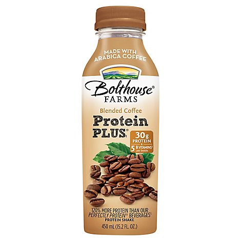Bolthouse Farms Protein Plus Protein Shake Blended Coffee - 15.2 Fl. Oz.