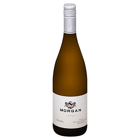 Morgan Metallico Wine Chardonnay Un Oaked Monterey - 750 Ml
