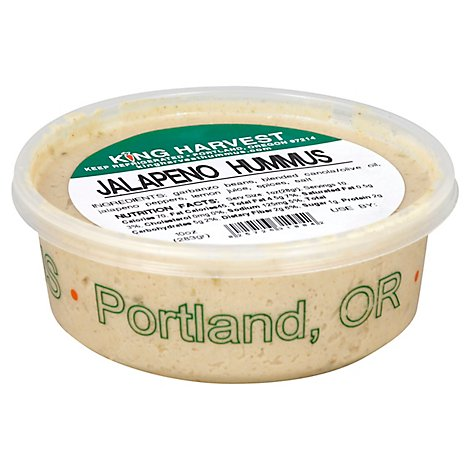 King Harvest Hummus Jalapeno - 10 Oz