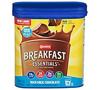 Carnation Breakfast Essentials Powder Drink Mix Rich Milk Chocolate - 17.7 Oz