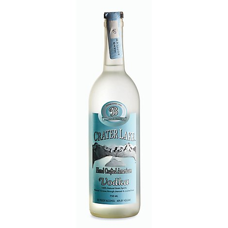 Crater Lake Vodka 80 Proof - 750 Ml