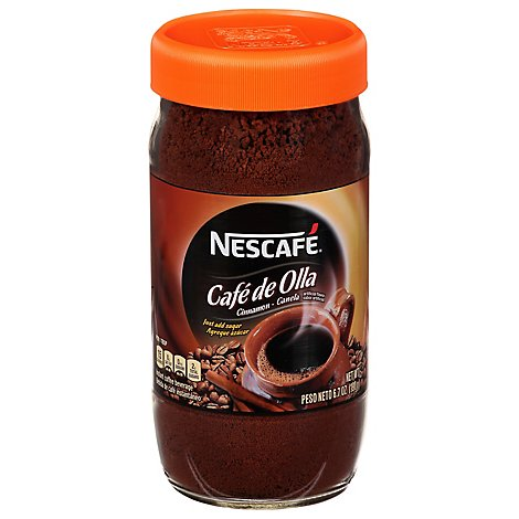 NESCAFE Coffee Instant Cafe de Olla Bottle - 6.7 Oz