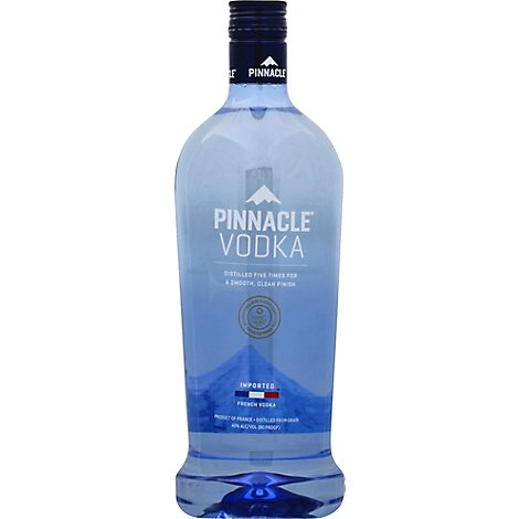 Pinnacle Vodka French 80 Proof - 1.75 Liter