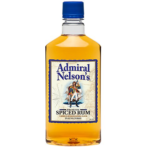 Admiral Nelsons Rum Spiced Pet 70 Proof - 750 Ml