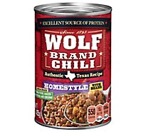 Wolf Brand Chili With Beans Homestyle - 15 Oz