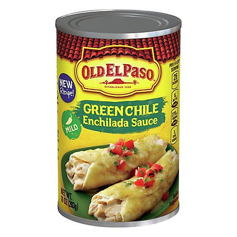 Old El Paso Sauce Enchilada Green Chile Mild Can - 10 Oz