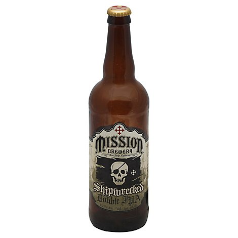 Mission Shipwrecked Double IPA Bottle - 22 Fl. Oz.