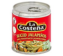 La Costena Jalapenos Sliced Can - 7 Oz