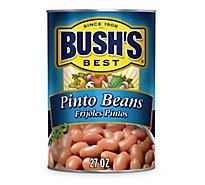BUSHS BEST Beans Pinto Frijoles Pintos Can - 27 Oz