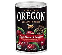 Oregon Fruit Products Pitted Dark Sweet Cherries Heavy Syrup - 15 Oz