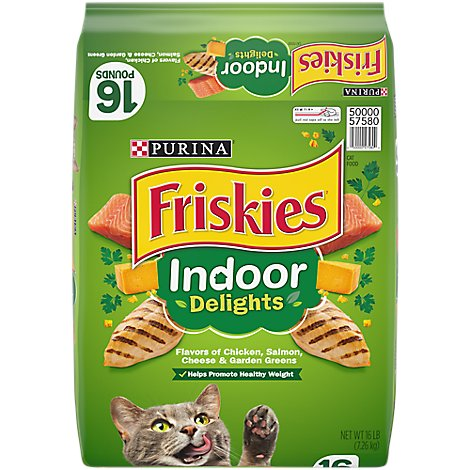 Friskies Cat Food Dry Indoor Delights - 16 Lb
