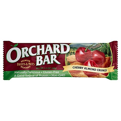 Liberty Orchards Cherry Almond Crunch Bar - 1.6 Oz