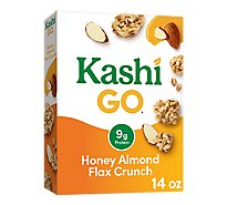 Kashi GO Breakfast Cereal Honey Almond Flax Crunch - 14 Oz