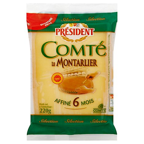 President Cheese Comte - 8.8 Oz