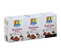 O Organics Organic Raisins Seedless Pack - 6 Count