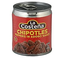 La Costena Chipotles in Adobo Sauce Can - 7 Oz