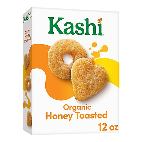 Kashi Heart to Heart Cereal Oat Honey Toasted - 12 Oz