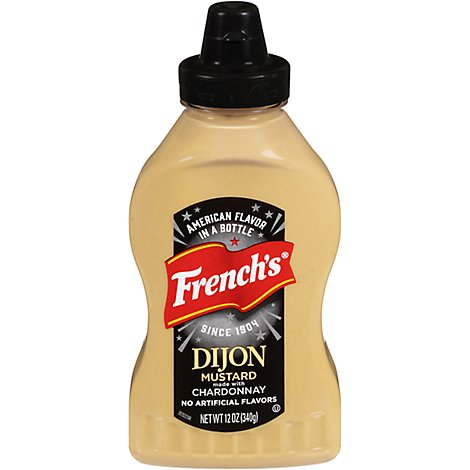 Frenchs Mustard Dijon Squeeze Bottle - 12 Oz