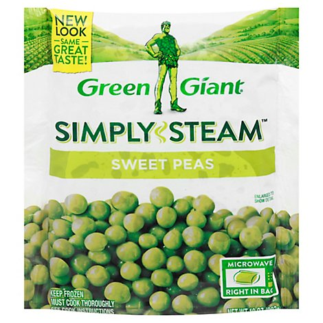 Green Giant Steamers Peas Sweet - 12 Oz